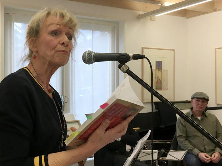 Marijke van Vuure verteld over haar tweede boek Leren Lezen met je Lijf tijdens de boekpresentatie